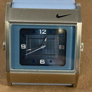 Nike Blue Sports Watch almost new sharp Blue Lite